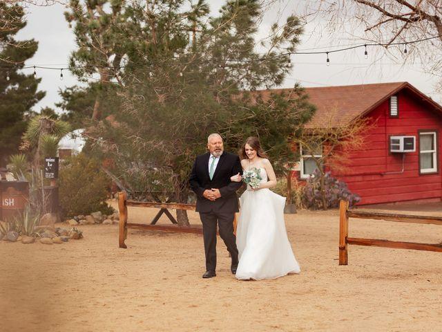 Trent and Julie's Wedding in Pioneertown, California 6
