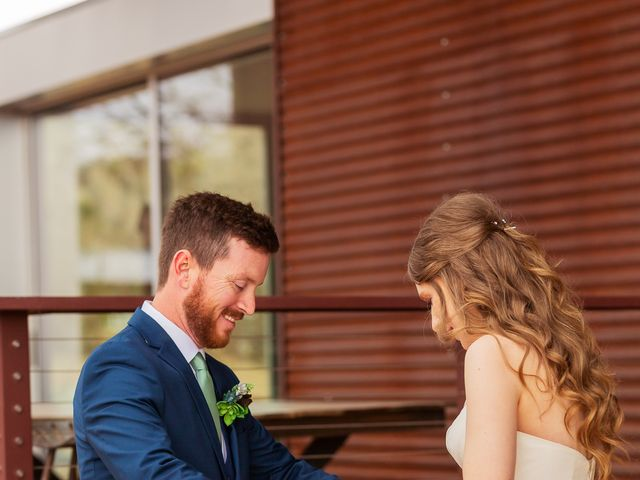 Trent and Julie's Wedding in Pioneertown, California 8