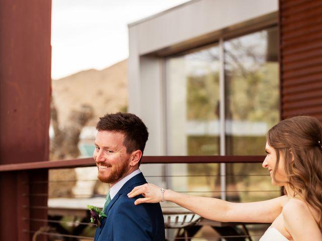 Trent and Julie's Wedding in Pioneertown, California 9