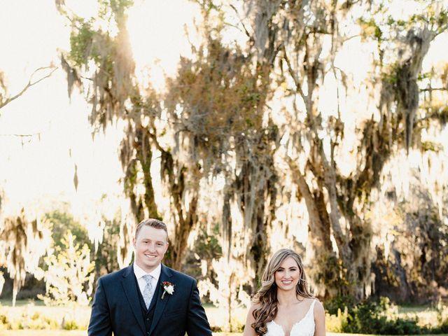 Logan and Bri's Wedding in Lithia, Florida 33