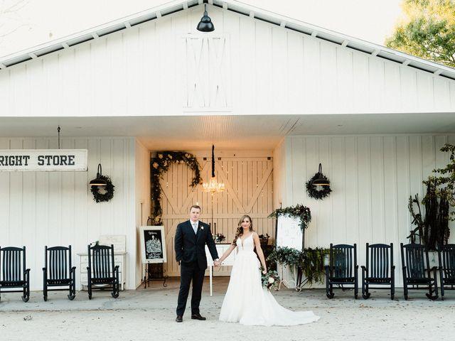 The wedding of Bri and Logan