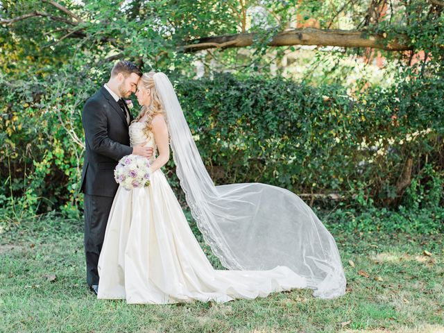 The wedding of Matt and Brittney