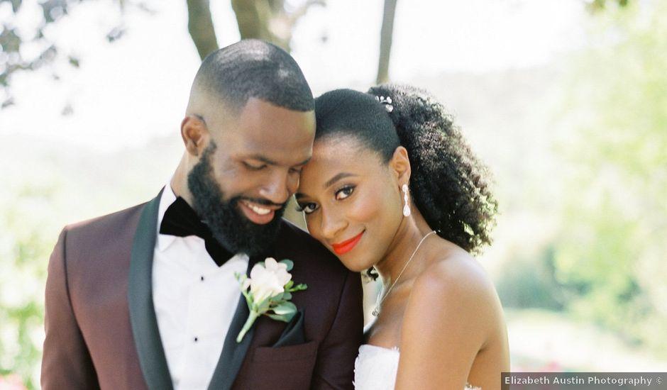 Allan and Niara's Wedding in Tate, Georgia