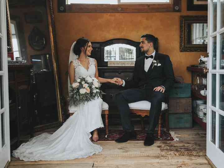 The wedding of Sheily and Jake