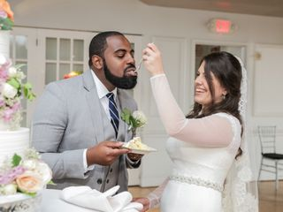 The wedding of Mohammad and Marie