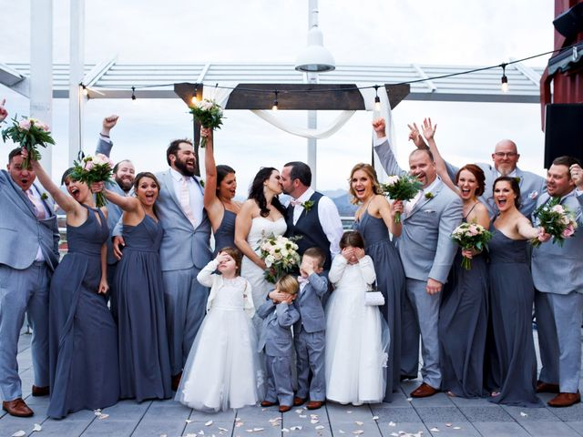 Matt and Laura's Wedding in Asheville, North Carolina 8