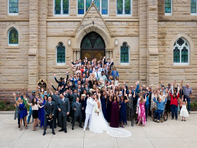 Whitney and Dustin's Wedding in Great Falls, Montana 7