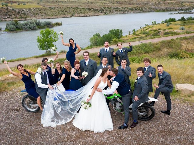 Whitney and Dustin's Wedding in Great Falls, Montana 8
