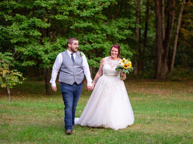 The wedding of Samantha and Rob