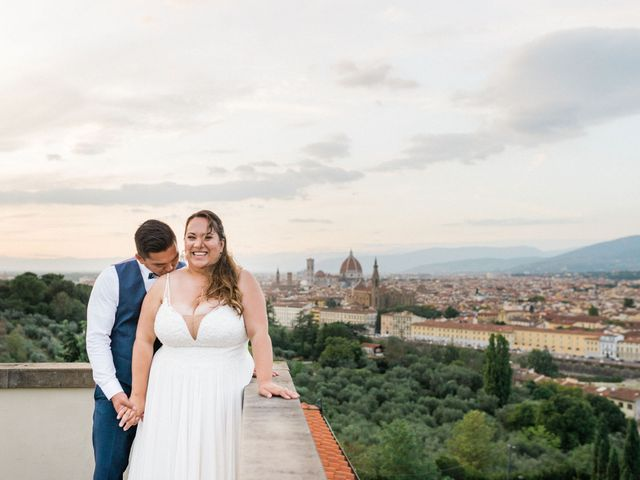 Geff and Angelica's Wedding in Florence, Italy 10