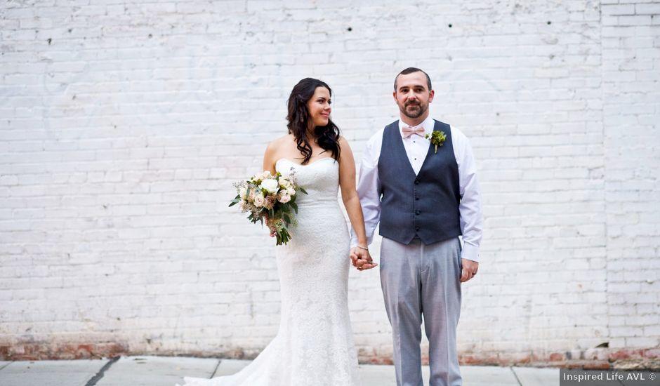 Matt and Laura's Wedding in Asheville, North Carolina