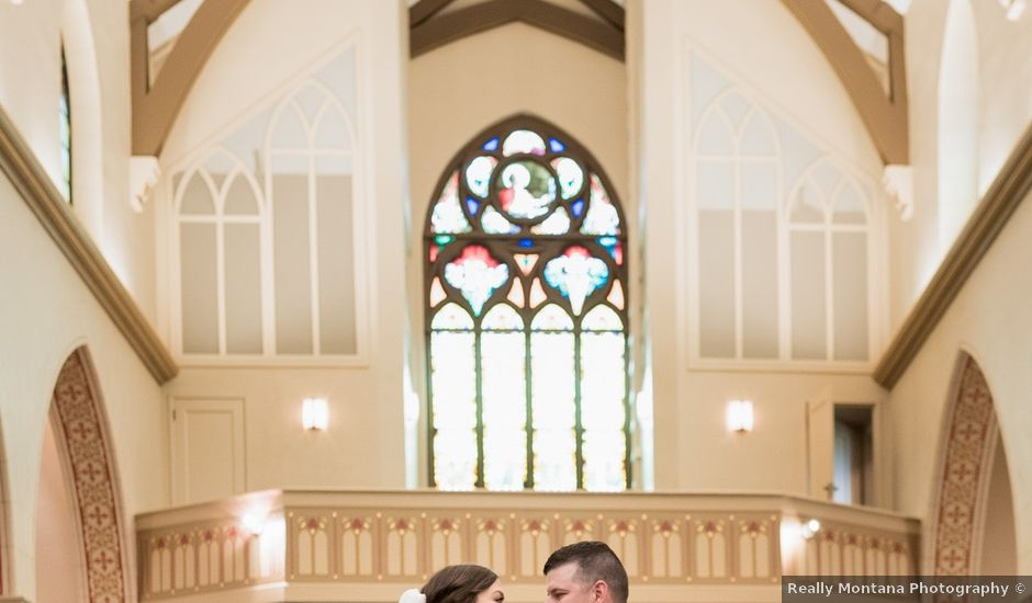 Whitney and Dustin's Wedding in Great Falls, Montana