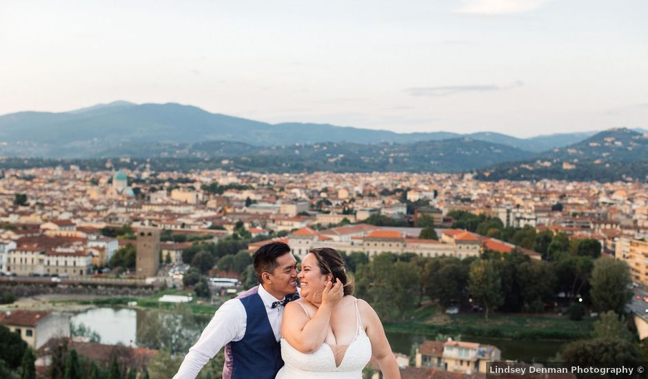 Geff and Angelica's Wedding in Florence, Italy