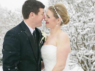 The wedding of Chris and Megan 1