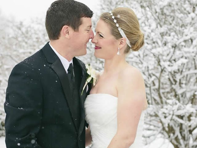 The wedding of Chris and Megan