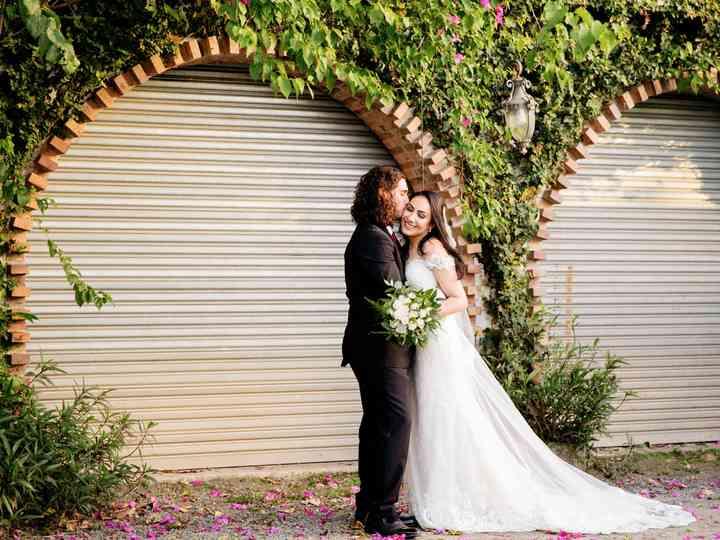 The wedding of Katrina and Francis