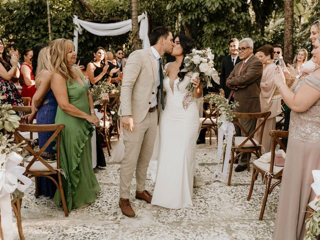 The wedding of Katherine and Manuel