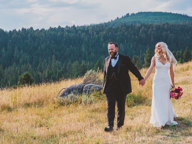 Laura and Stephen's Wedding in Big Sky, Montana 4