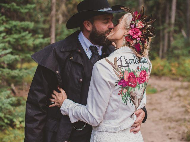 Laura and Stephen's Wedding in Big Sky, Montana 6