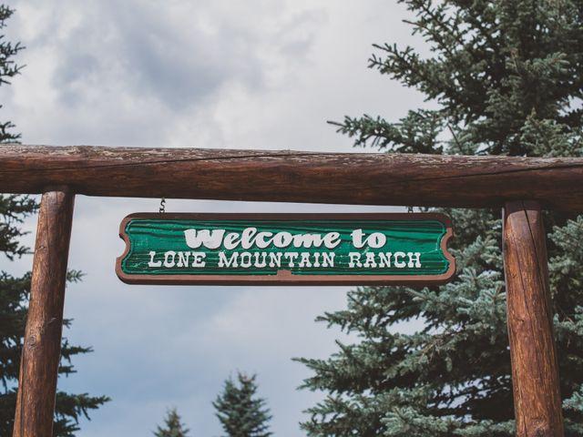 Laura and Stephen's Wedding in Big Sky, Montana 9