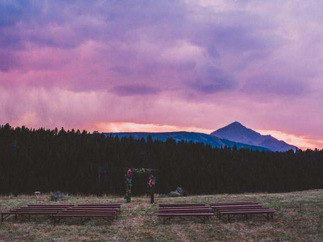 Laura and Stephen's Wedding in Big Sky, Montana 1
