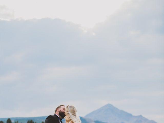Laura and Stephen's Wedding in Big Sky, Montana 2