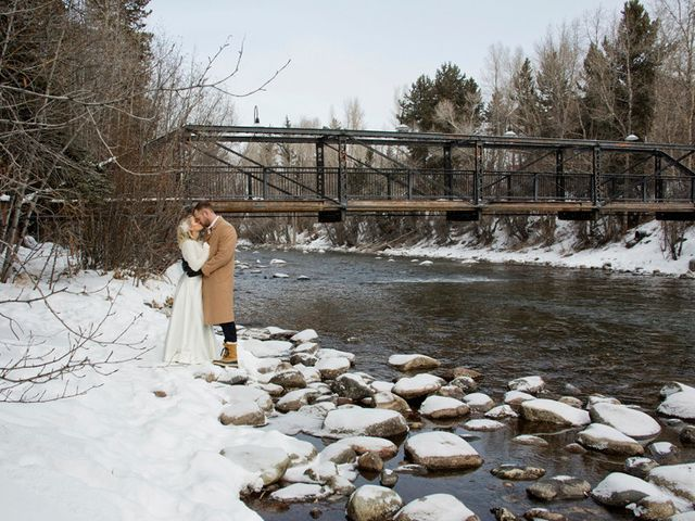 Matt and Stormi's Wedding in Silverthorne, Colorado 1