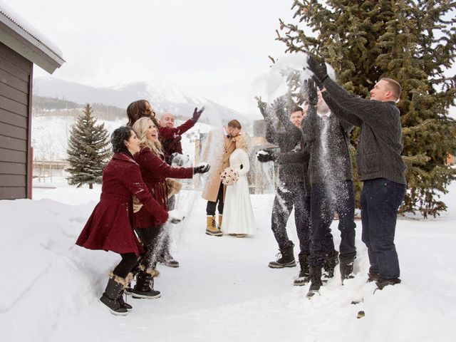 Matt and Stormi's Wedding in Silverthorne, Colorado 14
