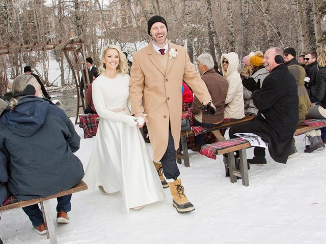Matt and Stormi's Wedding in Silverthorne, Colorado 19