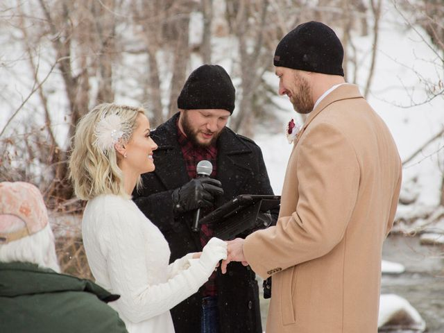 Matt and Stormi's Wedding in Silverthorne, Colorado 20