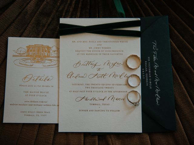 Andrew and Brittany's Wedding in Tomball, Texas 10