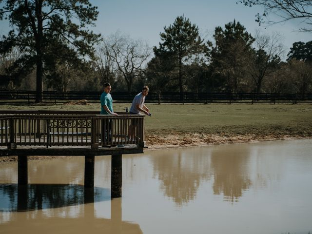 Andrew and Brittany's Wedding in Tomball, Texas 15