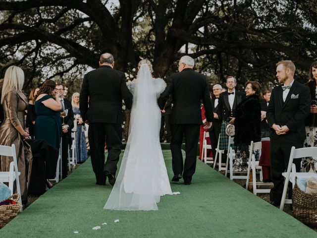 Andrew and Brittany's Wedding in Tomball, Texas 54