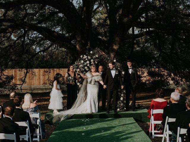 Andrew and Brittany's Wedding in Tomball, Texas 64