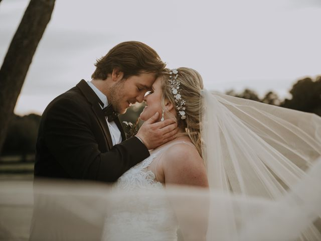 Andrew and Brittany's Wedding in Tomball, Texas 73