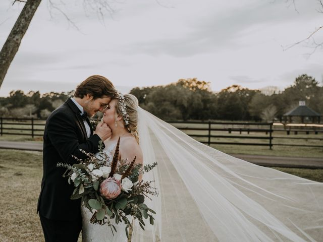 Andrew and Brittany's Wedding in Tomball, Texas 74