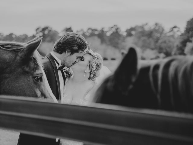 Andrew and Brittany's Wedding in Tomball, Texas 78