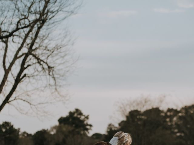 Andrew and Brittany's Wedding in Tomball, Texas 79