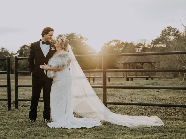 Andrew and Brittany's Wedding in Tomball, Texas 84