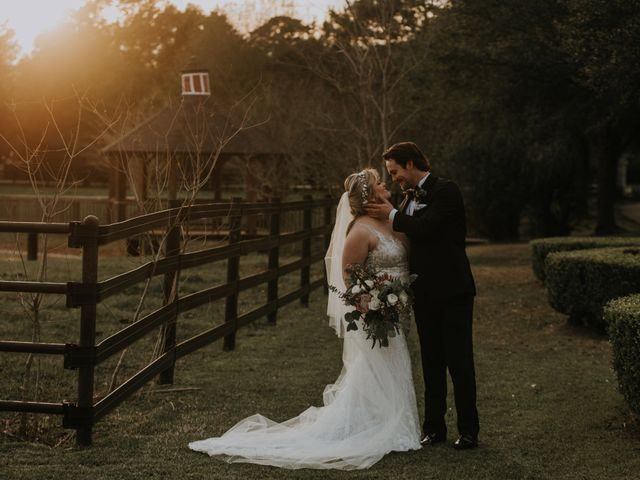 Andrew and Brittany's Wedding in Tomball, Texas 85