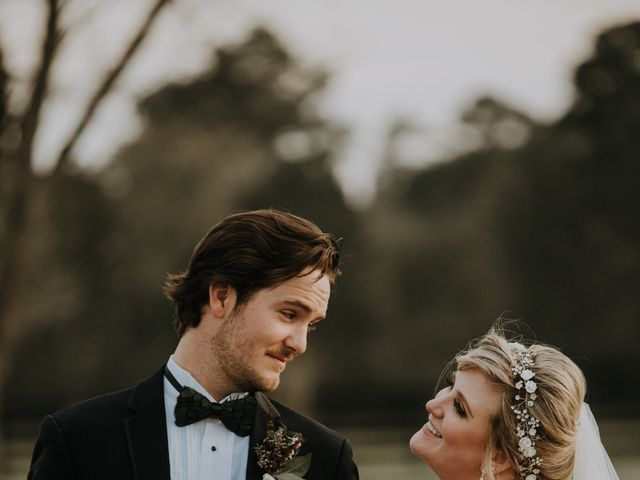 Andrew and Brittany's Wedding in Tomball, Texas 91