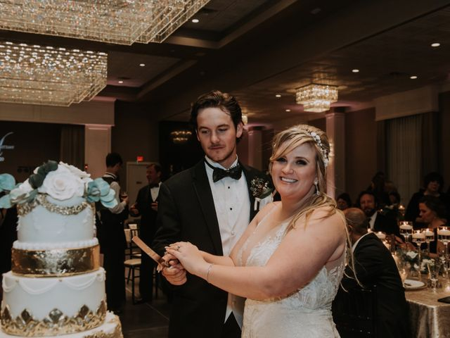 Andrew and Brittany's Wedding in Tomball, Texas 120