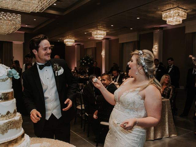 Andrew and Brittany's Wedding in Tomball, Texas 124