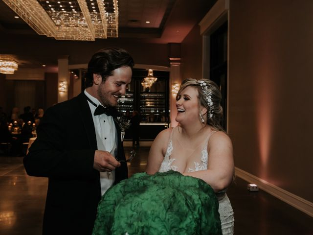 Andrew and Brittany's Wedding in Tomball, Texas 129