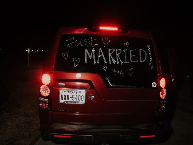 Andrew and Brittany's Wedding in Tomball, Texas 158