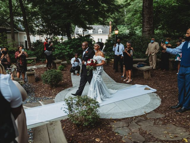 Al'Janir and Shania's Wedding in Powhatan, Virginia 35
