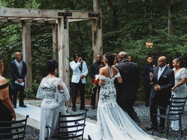 Al'Janir and Shania's Wedding in Powhatan, Virginia 36