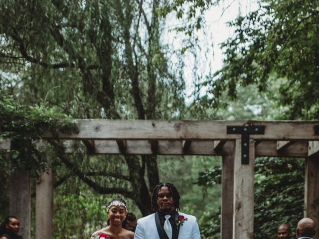 Al'Janir and Shania's Wedding in Powhatan, Virginia 37