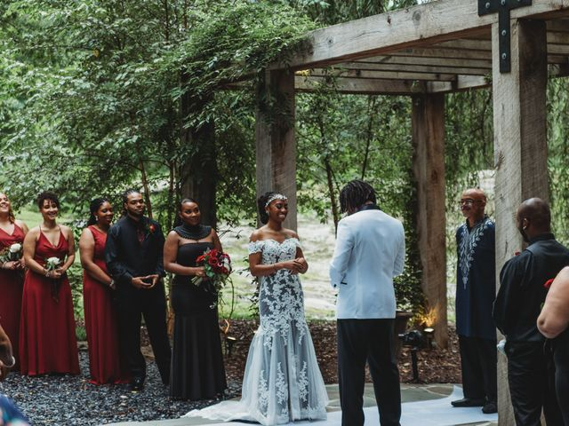 Al'Janir and Shania's Wedding in Powhatan, Virginia 38