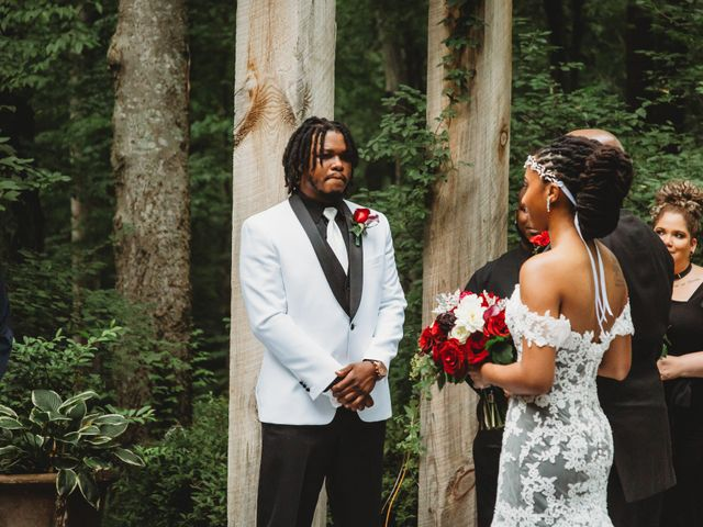 Al'Janir and Shania's Wedding in Powhatan, Virginia 41